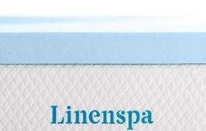 linenspa 3 inch twin size gel infused memory foam mattress topper