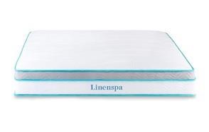 linenspa memory foam and innerspring hybrid mattress