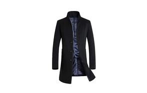 mordenmiss men's french woolen coat