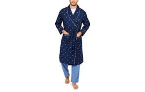 nautica long sleeve robe