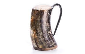 norse tradesman original viking drinking horn mug