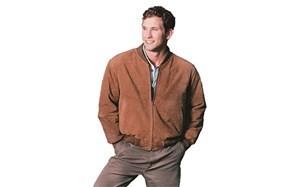 reed mens baseball suede jacket