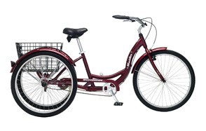 schwinn meridian full size adult tricycle