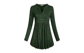 sese code women's flair tunic top