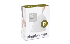 simplehuman code r custom fit drawstring trash bags