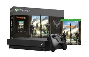 xbox one x 1tb console tom clancy's the division 2 bundle