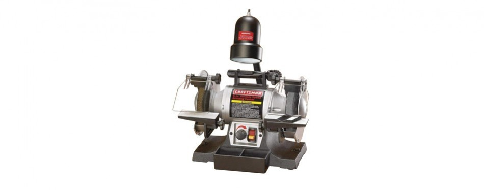 craftsman 921154 6-inch bench grinder