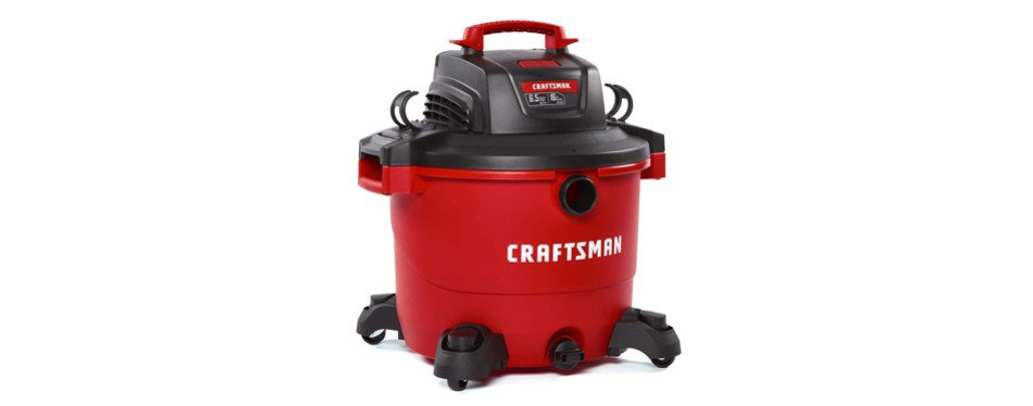 CRAFTSMAN CMXEVBE17595 16 Gallon 6.5 Peak HP Wet/Dry Vacuum