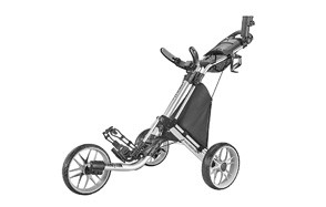 CaddyTek Caddylite EZ V8 3 Wheel Golf Cart