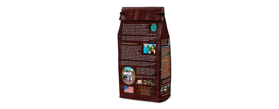 Café Don Pablo Colombian Gourmet Decaf Coffee