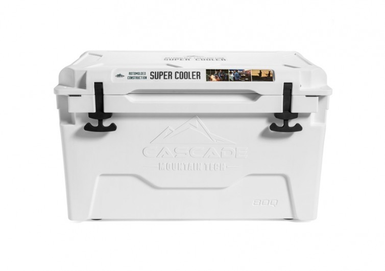 Cascade 80 Quart Rotomolded Super Cooler