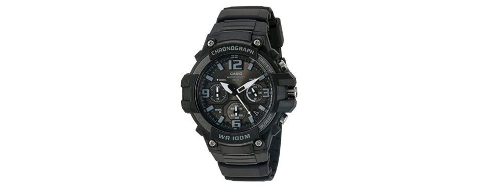 Casio Heavy Duty Chronograph Watch