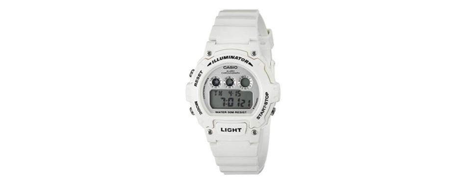 Casio Kids W-214HC-1AVCF Classic Quartz Watch For Boys