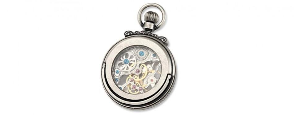 Charles-Hubert Paris Classic Collection Pocket Watch