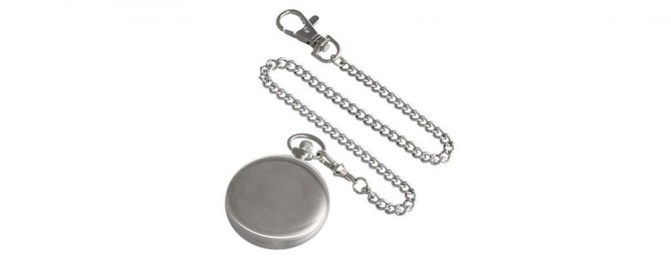 Charles-Hubert Paris Premium Mechanical Pocket Watch