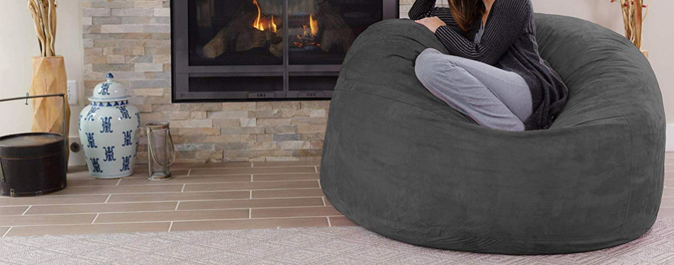 Chill Sack Giant Memory Foam Bean Bag Sofa