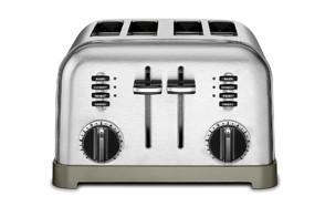 cuisinart cpt-180 metal classic 4-slice toaster