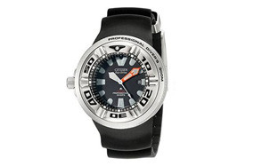 Citizen Men's Eco-Drive Pro Master Left Handed Watch