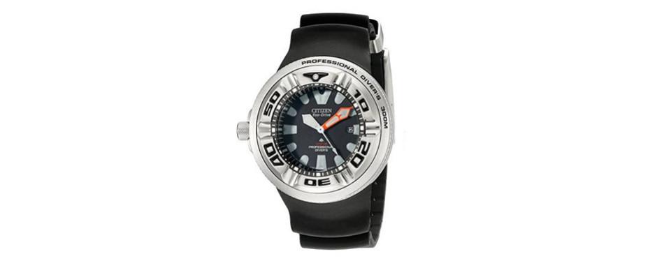 Citizen Men's Eco-Drive Pro Master Left Handed Watch