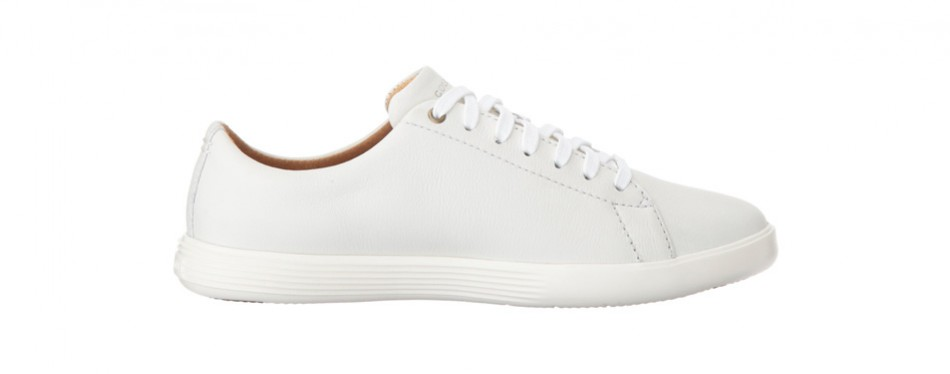 huge selection of e52c0 774d3 Cole Haan Grand Crosscourt II White Sneakers for Men