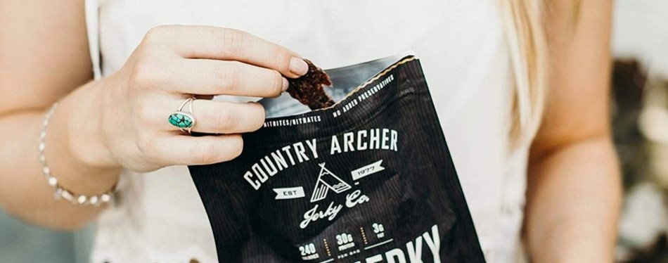 Country Archer 100% Grass-Fed Beef Jerky