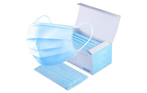 Crazylover 50pcs Disposable 3 Layer Thicker Face Masks