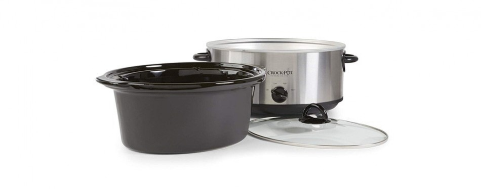 Crock-Pot Manual Steel 7-Quart Cooker