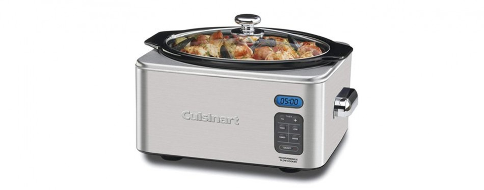 Cuisinart Stainless Steel Programmable Slow Cooker