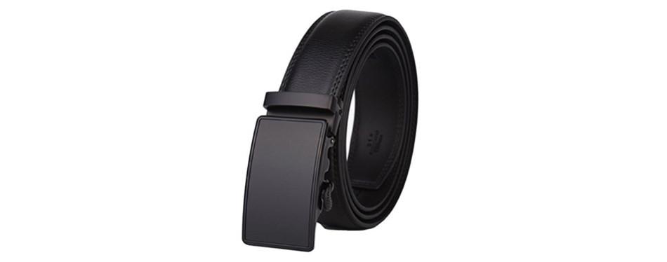 Dante Men's Leather Dress Belt