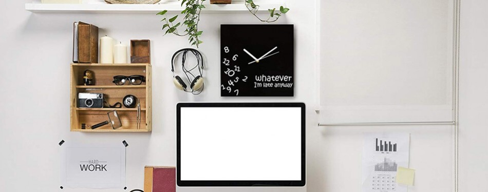 Decodyne Whatever Wall Clock