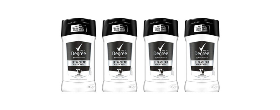 Degree Men MotionSense UltraClear Black+White Deodorant Stick