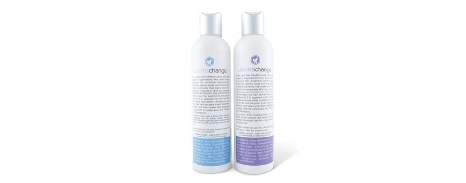 Derma Change Thick and Full Shampoo and Conditioner Set
