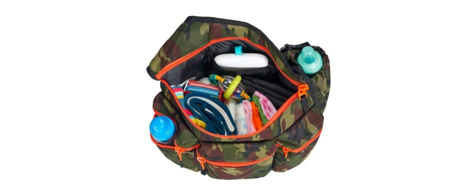 Diaper Dude Camo Diaper Bag W/ Changing Pad
