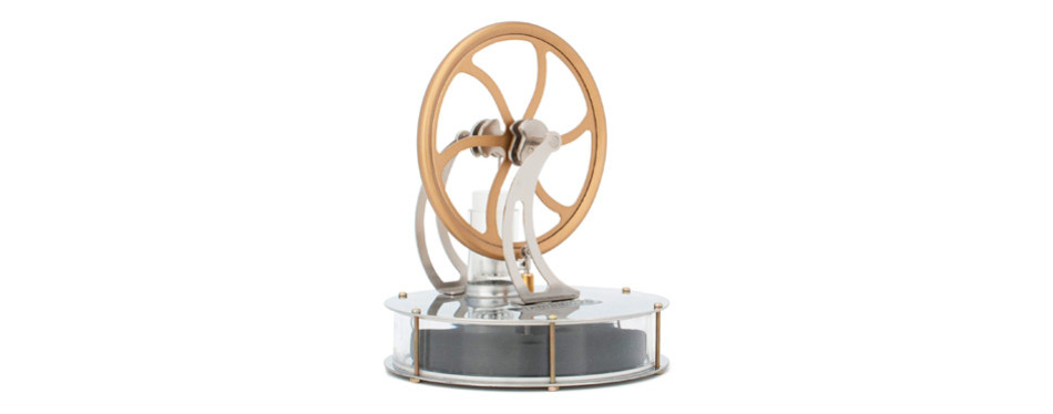 DjuiinoStar Low Temperature Stirling Engine