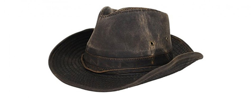 Dorfman Pacific Weathered Outback Hat