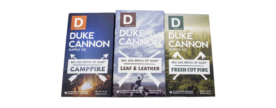 Duke Cannon Great American Frontier Men's Big Brick of Soap Set