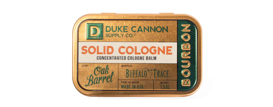 Duke Cannon Men's Solid Cologne-Bourbon Trail