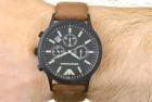 Emporio Armani Men's Leather Watch
