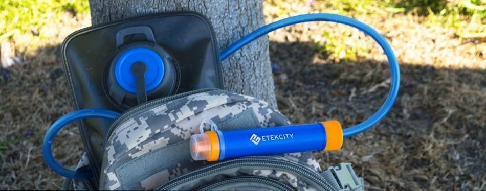 Etekcity Portable Water Filter Straw
