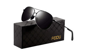 FEIDU Polarized Aviator Sunglasses
