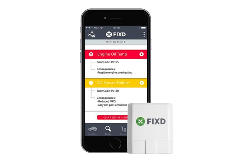 FIXD OBD-II Active Car Health Monitor