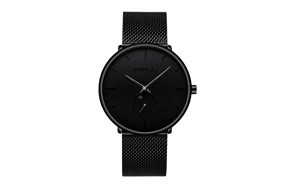 FIZILI Men's All-Black Watch