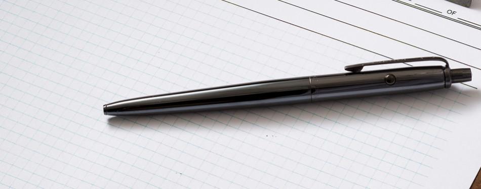Fisher Space EDC Pen – Black Titanium Nitride