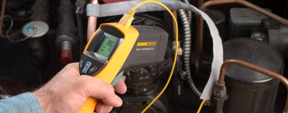 fluke 561 hvac pro infrared thermometer