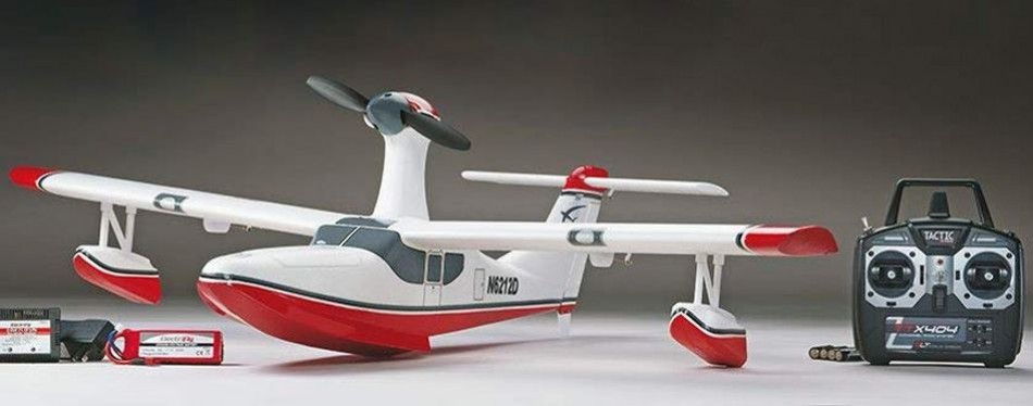 Flyzone Tidewater Electric Remote Control Plane