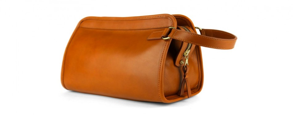 Frank Clegg Small Leather Travel Kit