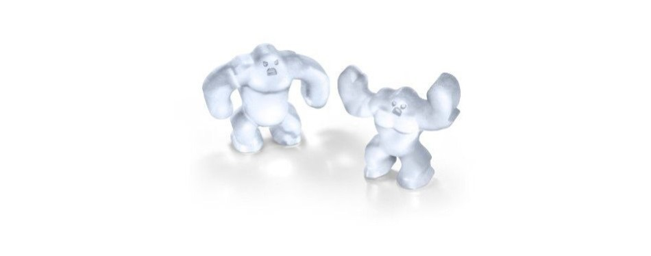 Fred ABOMINABLE ICE Silicone Ice Tray