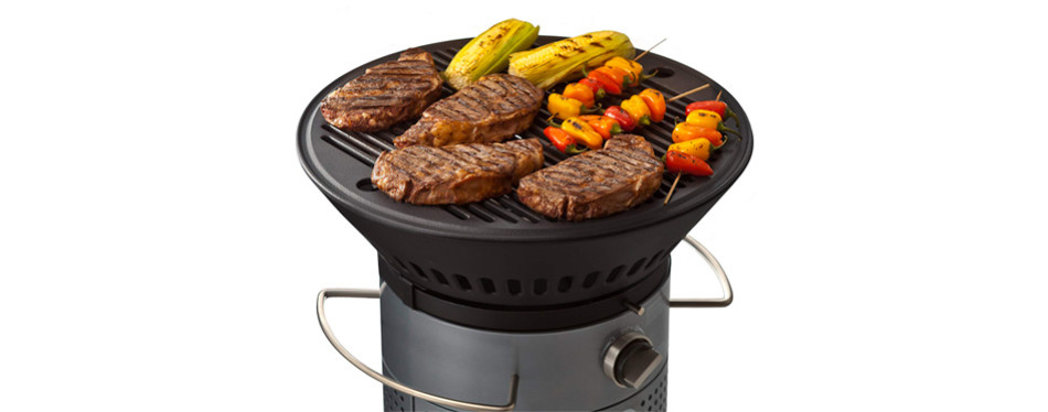 Fuego Element Carbon Steel Gas Grill