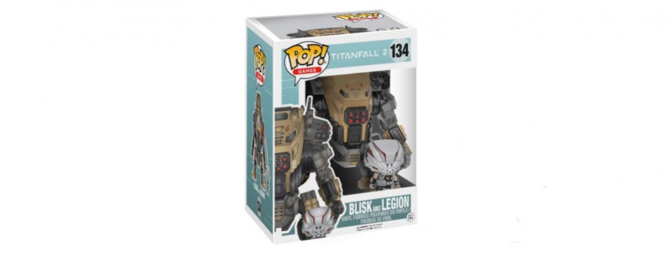 Funko Pop! Titan Fall 2 Blisk and Legion Collectible 2 Pack Figurines