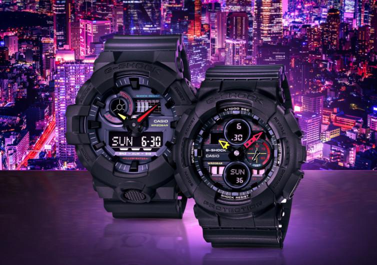 g-shock neo tokyo series watches
